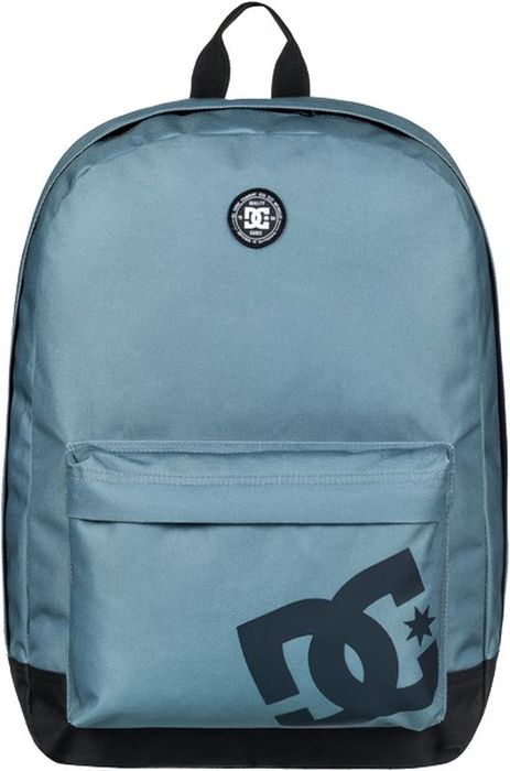 Рюкзак мужской DC Shoes DC Shoes Backstack M, цвет: голубой, белый, 18,5 л. EDYBP03159-BMK0 dc shoes кеды dc shoes evan smith hi navy gold 9