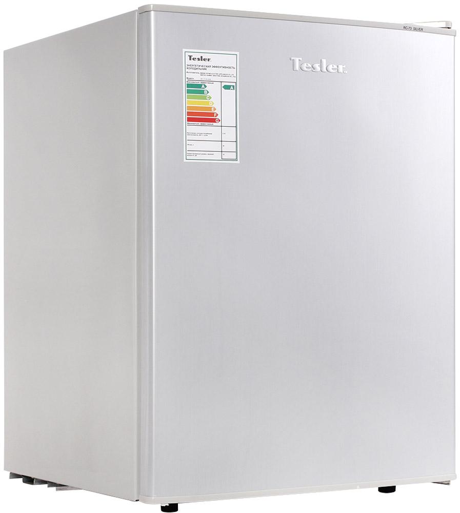 Tesler RC-73, Silver холодильник