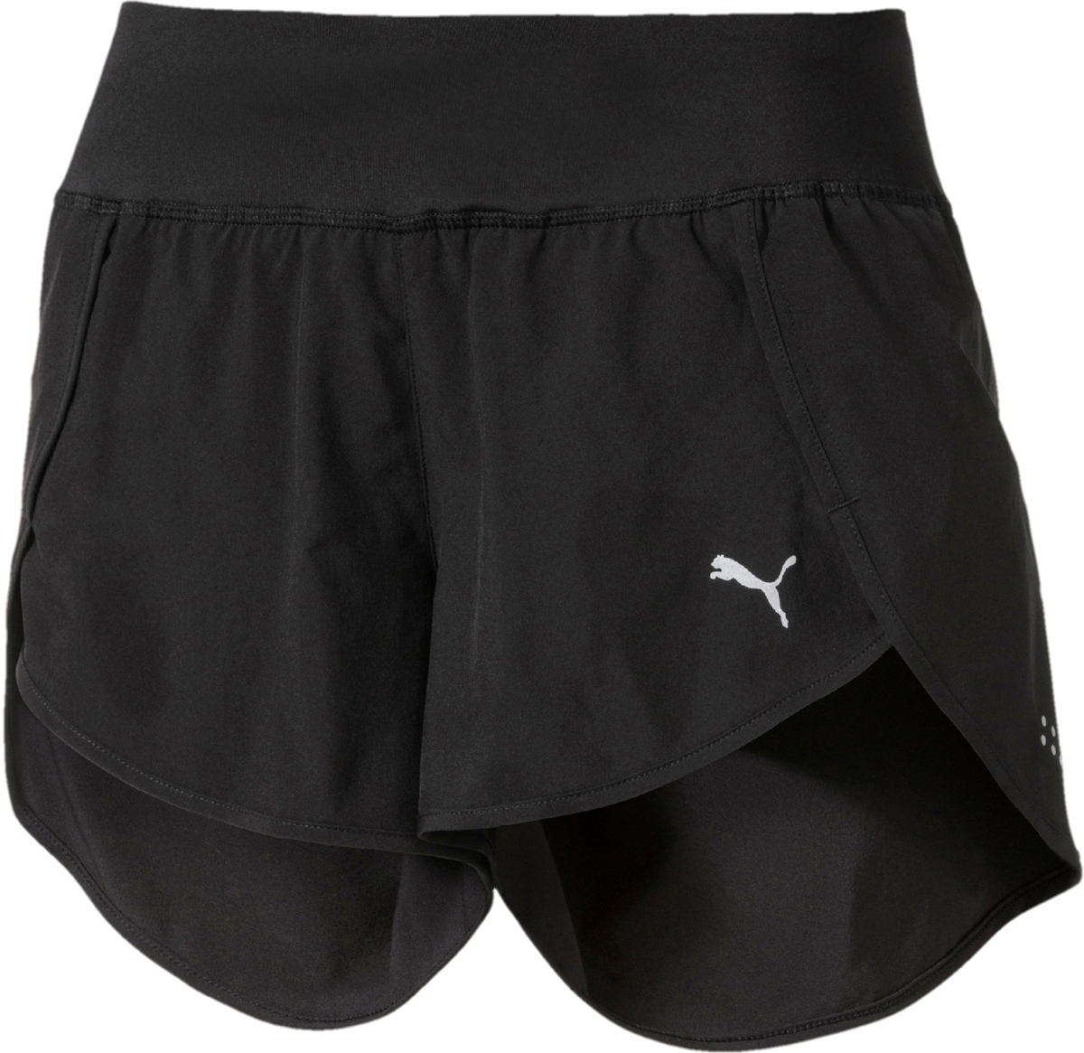 Шорты женские Puma Blast 3 Short W, цвет: черный. 51628401. Размер L (46/48) 100% brand new g480 g480a laptop fan for lenovo g480m g485 cooler g580 g585 cpu fan genuine g480 g480a laptop cpu cooling fan