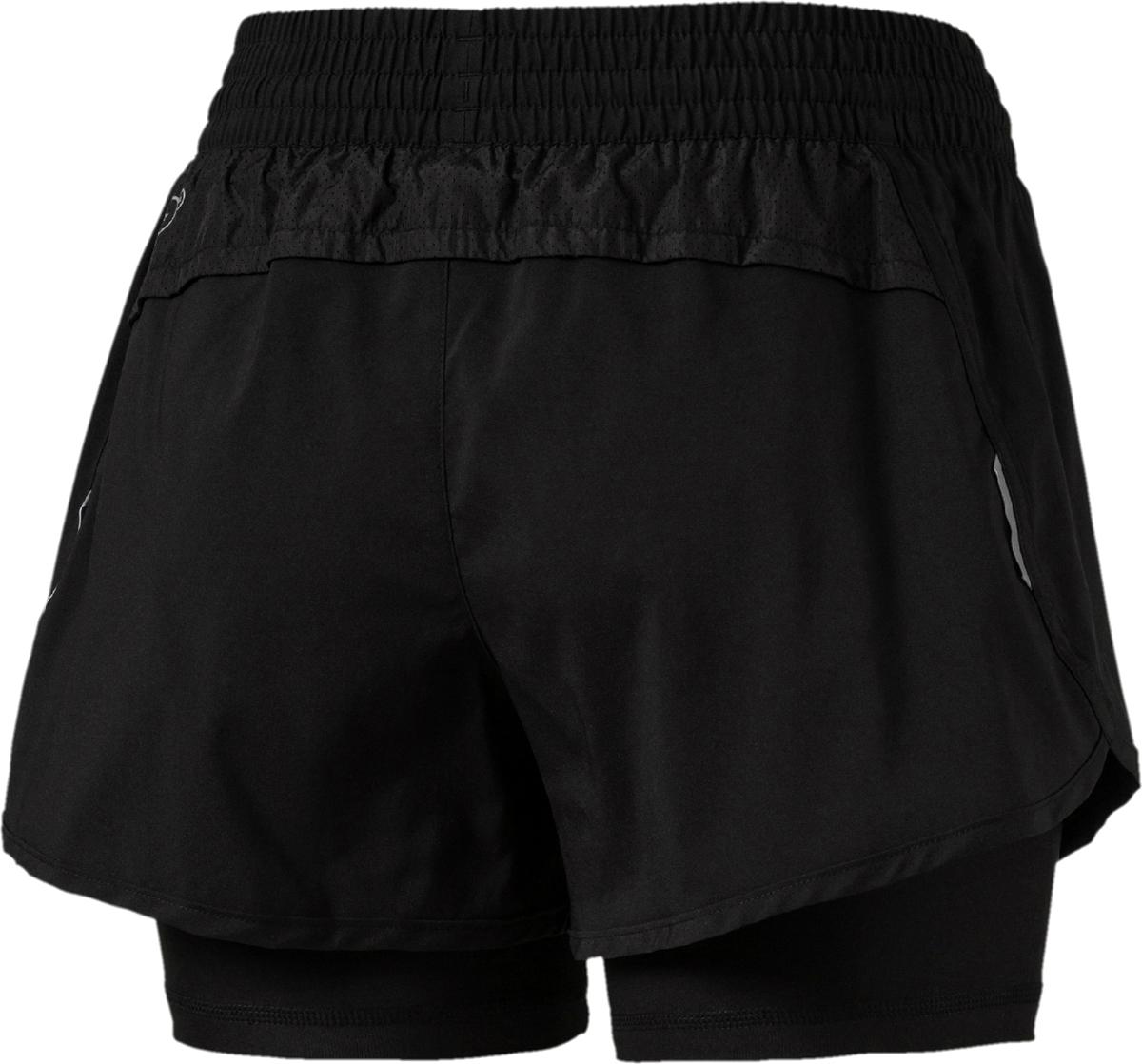 Спортивные женские шорты Core-Run 2n1от Puma отлично подходят для занятий фитнесом. Модель выполнена по технологии dryCELL, которая гарантирует ощущение сухости и комфорта на протяжении всей тренировки. Светоотражающий логотип и светоотражающие детали предназначены для лучшей видимости в темное время суток.