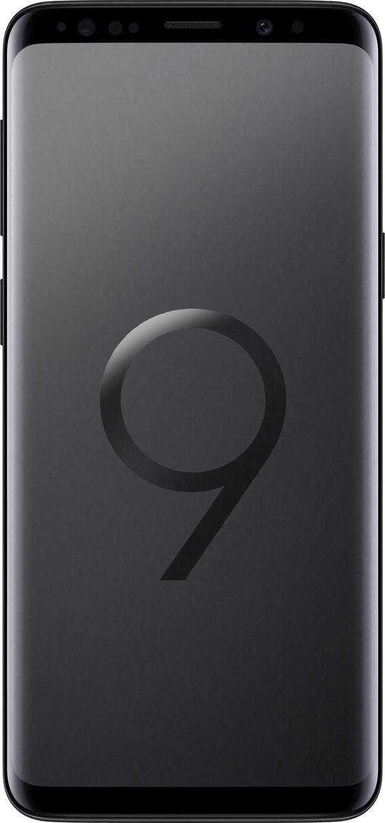 Samsung Galaxy S9 SM-G960, Черный бриллиантSM-G960FZKDSERSamsung Galaxy S9 SM-G960 - новый флагман с множеством инновационных функций и узнаваемым премиальным дизайном.Яркие снимки как днем, так и ночьюКамера с двойной апертурой видит мир подобно человеческому глазу. Она автоматически переключается между различными условиями освещения ради создания прекрасных снимков как днем, так и ночью.Апертура F1.5 позволяет пропускать большее количество света черезобъектив. Снимай великолепные фотографии ночью во всех деталях и сболее точной цветопередачей.Создайте свою анимированную копию, просто сделав сэлфи. Делитесь эмоциями с друзьями в виде анимированных селфимоджи.Интеллектуальный способ идентификацииСмартфон автоматически подберет наиболее оптимальный способ идентификации в зависимости от ситуации и окружающего освещения: радужная оболочка глаза или функция распознавания лиц.Безграничный экранДизайн Galaxy S9 и S9+ подчеркивает единство корпуса и экрана. Безграничный экран, мягко изгибаясь по краям, плавно переходит в тонкий корпус смартфона.Благодаря стереодинамикам от AKG вы сможете насладиться громким и одновременно чистым звуком, который в 1.4 раза мощнее, чем у предыдущих версий смартфонов Galaxy. Наступила новая эра звука - технология Dolby Atmos окружает вас трехмерным звучанием, как в кинотеатре.Разблокируйте смартфон при помощи удобной технологии, объединяющей функцию распознавания лица и сканер радужной оболочки глаза. Смартфон автоматически подберет наиболее оптимальный способ идентификации в зависимости от ситуации и окружающего освещения: радужная оболочка глаза или функция распознавания лиц.Защита от воды и пылиНе бойтесь попасть под дождь и промокнуть. Степень защиты от воды и пыли IP68 позволяет переписываться с друзьями, звонить и фотографировать даже в дождливую погоду.Наслаждайтесь мощностью и плавной работой смартфона, играй в захватывающие графические игры и смотри фильмы c 3D звучанием Dolby Atmos на протяжении всего дня благодаря мощнейшему процес