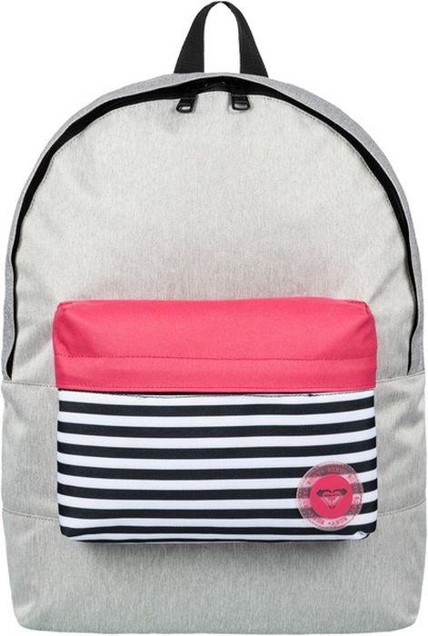 Рюкзак женский Roxy Roxy Sugar Baby Colo J, цвет: серый, 16 л. ERJBP03636-SGRH сотовый