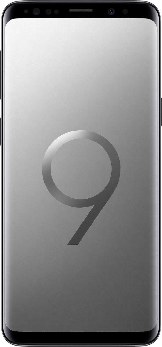 Samsung Galaxy S9 SM-G960, GraySM-G960FZADSERSamsung Galaxy S9 SM-G960 - новый флагман с множеством инновационных функций и узнаваемым премиальным дизайном.Яркие снимки как днем, так и ночьюКамера с двойной апертурой видит мир подобно человеческому глазу. Она автоматически переключается между различными условиями освещения ради создания прекрасных снимков как днем, так и ночью.Апертура F1.5 позволяет пропускать большее количество света черезобъектив. Снимай великолепные фотографии ночью во всех деталях и сболее точной цветопередачей.Создайте свою анимированную копию, просто сделав сэлфи. Делитесь эмоциями с друзьями в виде анимированных селфимоджи.Интеллектуальный способ идентификацииСмартфон автоматически подберет наиболее оптимальный способ идентификации в зависимости от ситуации и окружающего освещения: радужная оболочка глаза или функция распознавания лиц.Безграничный экранДизайн Galaxy S9 и S9+ подчеркивает единство корпуса и экрана. Безграничный экран, мягко изгибаясь по краям, плавно переходит в тонкий корпус смартфона.Благодаря стереодинамикам от AKG вы сможете насладиться громким и одновременно чистым звуком, который в 1.4 раза мощнее, чем у предыдущих версий смартфонов Galaxy. Наступила новая эра звука - технология Dolby Atmos окружает вас трехмерным звучанием, как в кинотеатре.Разблокируйте смартфон при помощи удобной технологии, объединяющей функцию распознавания лица и сканер радужной оболочки глаза. Смартфон автоматически подберет наиболее оптимальный способ идентификации в зависимости от ситуации и окружающего освещения: радужная оболочка глаза или функция распознавания лиц.Защита от воды и пылиНе бойтесь попасть под дождь и промокнуть. Степень защиты от воды и пыли IP68 позволяет переписываться с друзьями, звонить и фотографировать даже в дождливую погоду.Наслаждайтесь мощностью и плавной работой смартфона, играй в захватывающие графические игры и смотри фильмы c 3D звучанием Dolby Atmos на протяжении всего дня благодаря мощнейшему процессору и увели