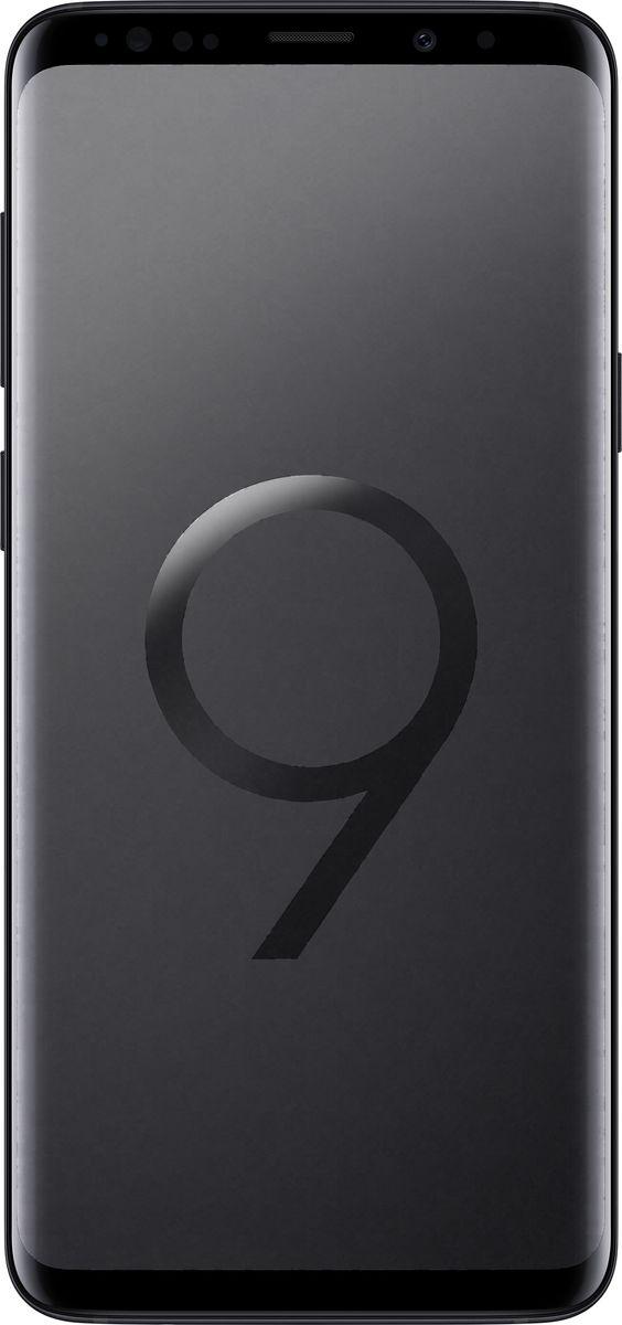 Samsung Galaxy S9+ SM-G965,Black (SM-G965FZKHSER)SM-G965FZKHSERSamsung Galaxy S9+ SM-G965 - новый флагман с множеством инновационных функций и узнаваемым премиальным дизайном.Яркие снимки как днем, так и ночьюКамера с двойной апертурой видит мир подобно человеческому глазу. Она автоматически переключается между различными условиями освещения ради создания прекрасных снимков как днем, так и ночью.Апертура F1.5 позволяет пропускать большее количество света черезобъектив. Снимай великолепные фотографии ночью во всех деталях и сболее точной цветопередачей.Создайте свою анимированную копию, просто сделав сэлфи. Делитесь эмоциями с друзьями в виде анимированных селфимоджи.Интеллектуальный способ идентификацииСмартфон автоматически подберет наиболее оптимальный способ идентификации в зависимости от ситуации и окружающего освещения: радужная оболочка глаза или функция распознавания лиц.Безграничный экранДизайн Galaxy S9 и S9+ подчеркивает единство корпуса и экрана. Безграничный экран, мягко изгибаясь по краям, плавно переходит в тонкий корпус смартфона.Благодаря стереодинамикам от AKG вы сможете насладиться громким и одновременно чистым звуком, который в 1.4 раза мощнее, чем у предыдущих версий смартфонов Galaxy. Наступила новая эра звука - технология Dolby Atmos окружает вас трехмерным звучанием, как в кинотеатре.Разблокируйте смартфон при помощи удобной технологии, объединяющей функцию распознавания лица и сканер радужной оболочки глаза. Смартфон автоматически подберет наиболее оптимальный способ идентификации в зависимости от ситуации и окружающего освещения: радужная оболочка глаза или функция распознавания лиц.Защита от воды и пылиНе бойтесь попасть под дождь и промокнуть. Степень защиты от воды и пыли IP68 позволяет переписываться с друзьями, звонить и фотографировать даже в дождливую погоду.Наслаждайтесь мощностью и плавной работой смартфона, играй в захватывающие графические игры и смотри фильмы c 3D звучанием Dolby Atmos на протяжении всего дня благодаря мощнейшему
