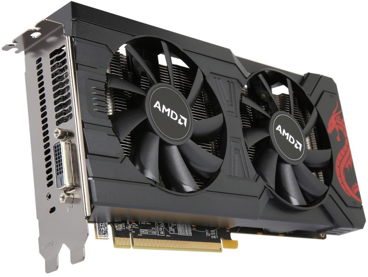PowerColor Radeon RX 570 8GB видеокарта (8GBD5-DM) биаркат 570 лт во владивостоке
