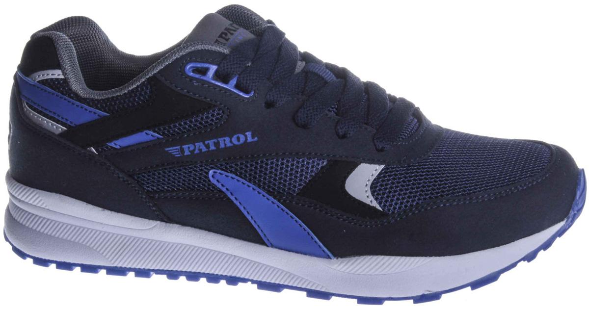 Кроссовки для мальчиков Patrol, цвет: синий. 732-243T-18s-02/8-16. Размер 37732-243T-18s-02/8-16