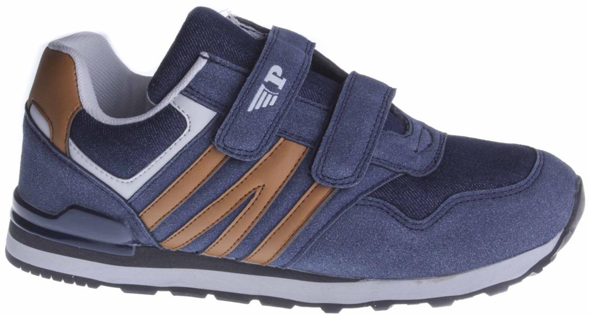 Кроссовки для мальчика Patrol, цвет: синий. 742-713T-18s-02/8-16. Размер 37 ботинки из спилка