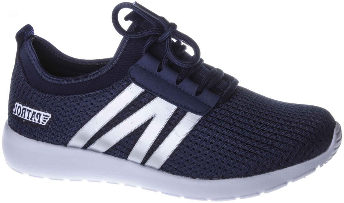 Кроссовки для мальчиков Patrol, цвет: синий. 776-020T-18s-8/02-16. Размер 38776-020T-18s-8/02-16