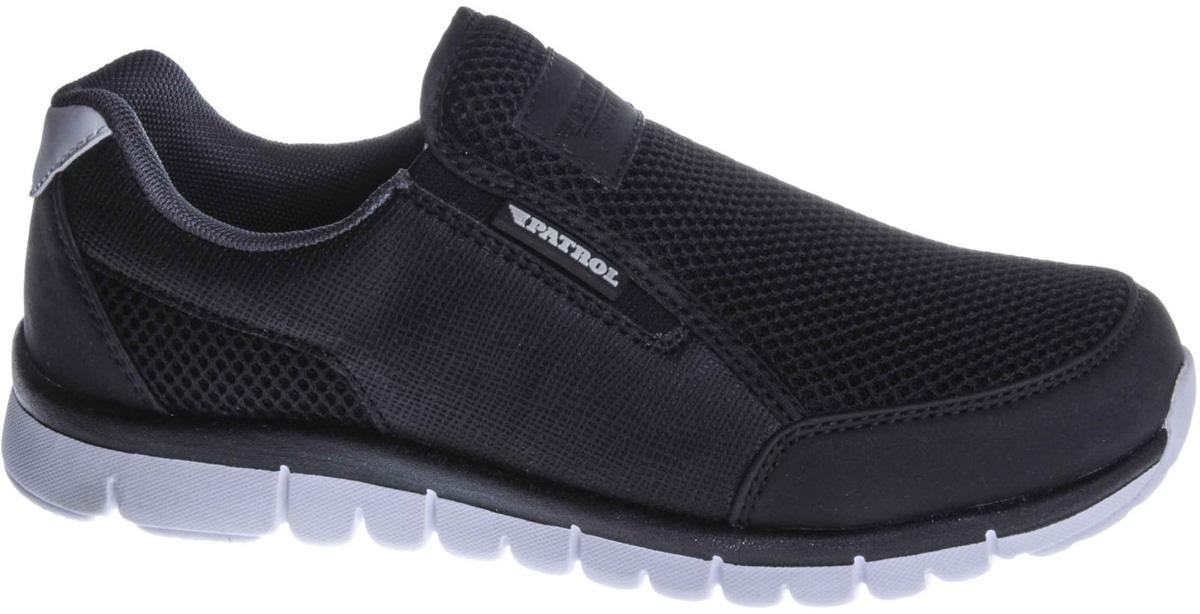 Кроссовки для мальчиков Patrol, цвет: черный. 732-238T-18s-01/8-1. Размер 37732-238T-18s-01/8-1
