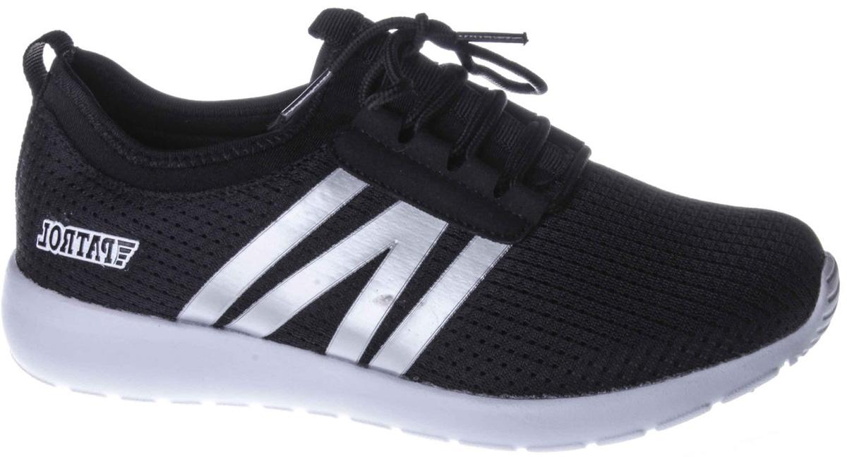Кроссовки для мальчиков Patrol, цвет: черный. 776-020T-18s-8/02-1. Размер 38776-020T-18s-8/02-1