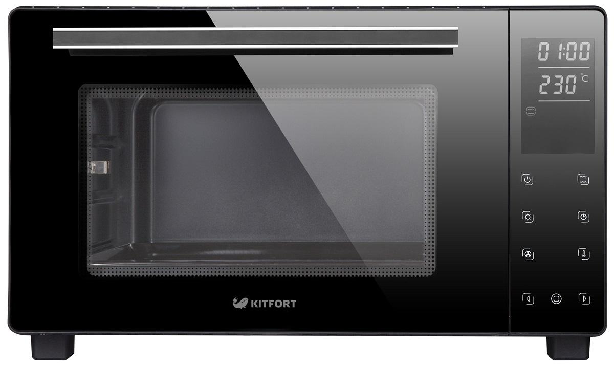 Kitfort КТ-1707, Black мини-печь