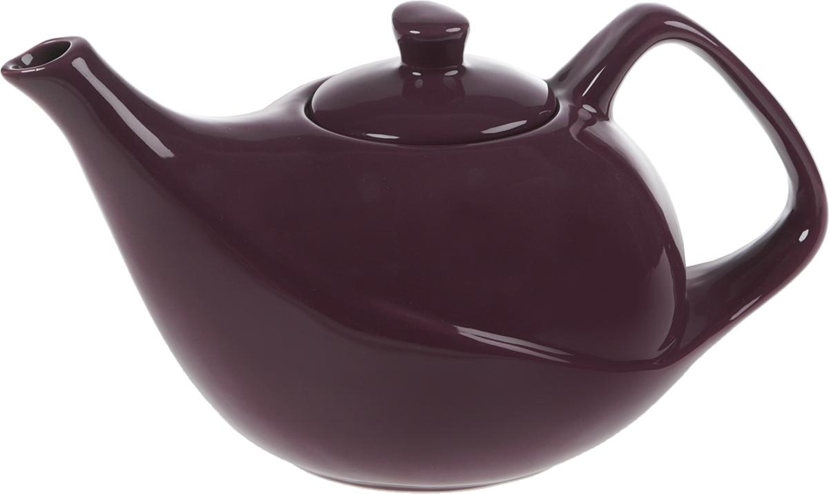 Чайник заварочный Elrington, с фильтром, цвет: фиолетовый, 1,2 лFJH-10500-A156Стильный чайник идеально впишется в ваш интерьер. Благодаря фильтру, заваривать в нем чай будет очень удобно!
