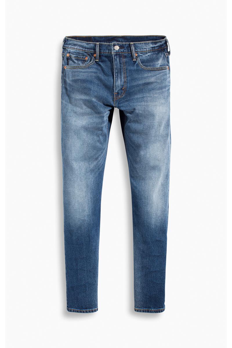 Джинсы мужские Levis® 502, цвет: голубой. 2950700880. Размер 31-32 (46/48-32)2950700880Мужские джинсы Levis® выполнены из натурального хлопка с добавлением эластана. Джинсы застегиваются на комбинированную застежку. На поясе предусмотрены шлевки для ремня. Модель имеет классический пятикарманный крой: спереди - два втачных кармана и один маленький накладной, а сзади - два накладных кармана.