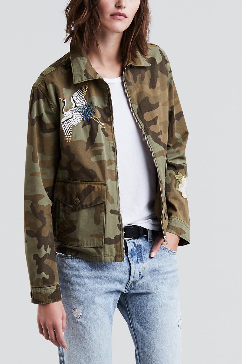 Куртка женская Levi's®, цвет: хаки. 3898700000. Размер XS (42)
