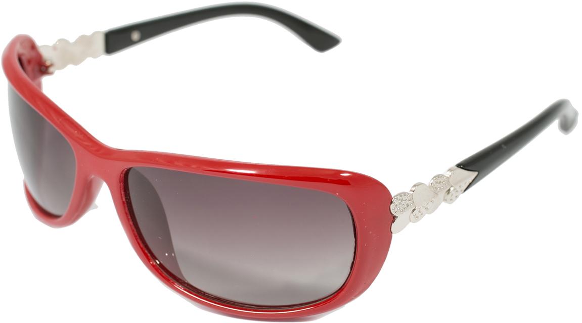 Очки солнцезащитные женские Mitya Veselkov, цвет: красный, черный OS-18.011