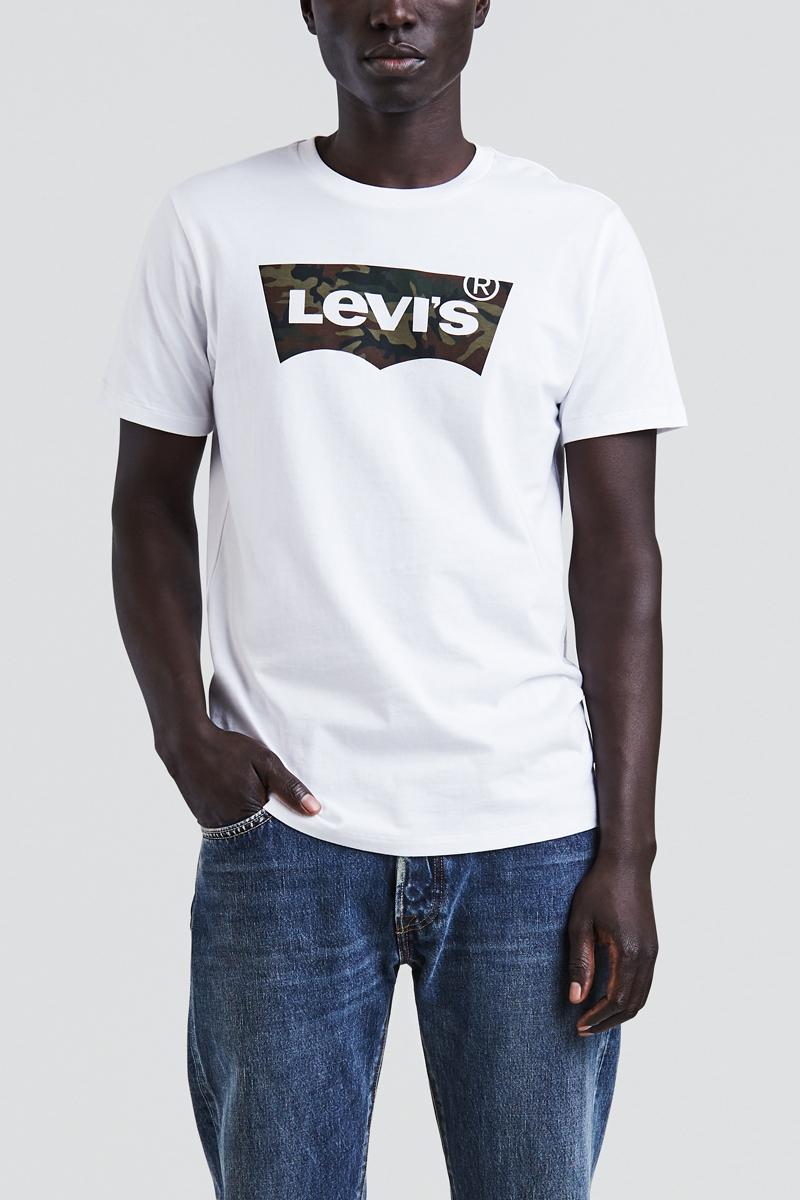 Купить Футболка мужская Levi's®, цвет: белый. 2248900830. Размер XL (52)