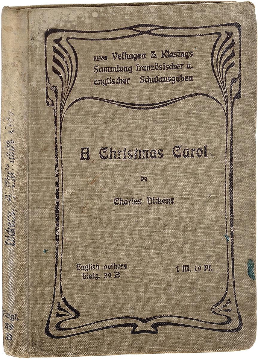 A Christmas Carol dickens c a christmas carol книга для чтения