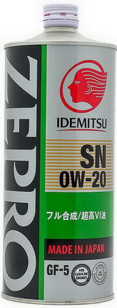 Масло моторное IDEMITSU ZEPRO ECO MEDALIST, синтетическое, SAE 0W-20, API SN/GF, 1 л3583-001Синтетическое энергосберегающее моторное масло для современных четырехтактных бензиновых двигателей, в том числе с турбонаддувом. Данный продукт произведен на основе синтетического базового масла с использованием запатентованной технологии ldemitsu Коsan Со.Ltd, благодаря чему обладает высоким индексом вязкости, превосходными смазывающими характеристиками при высоких температурах и уникальными пусковыми свойствами при низких температурах. Обеспечивает надежную защиту и экономичность современных двигателей легковых автомобилей, микроавтобусов и внедорожников.