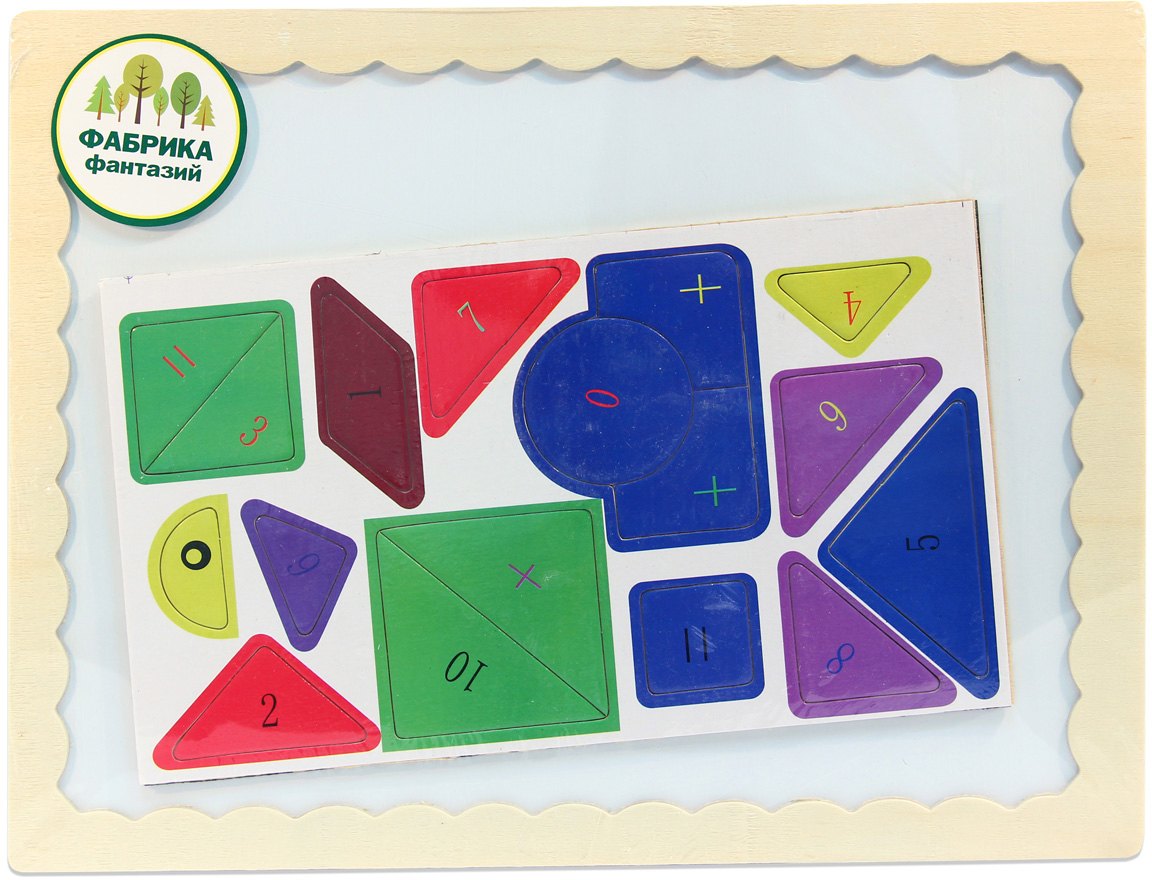 Фабрика Фантазий Доска магнитная с пазлами Собери сам 41780 наборы для рисования лавка чудес развивающая игра собери и раскрась истребитель