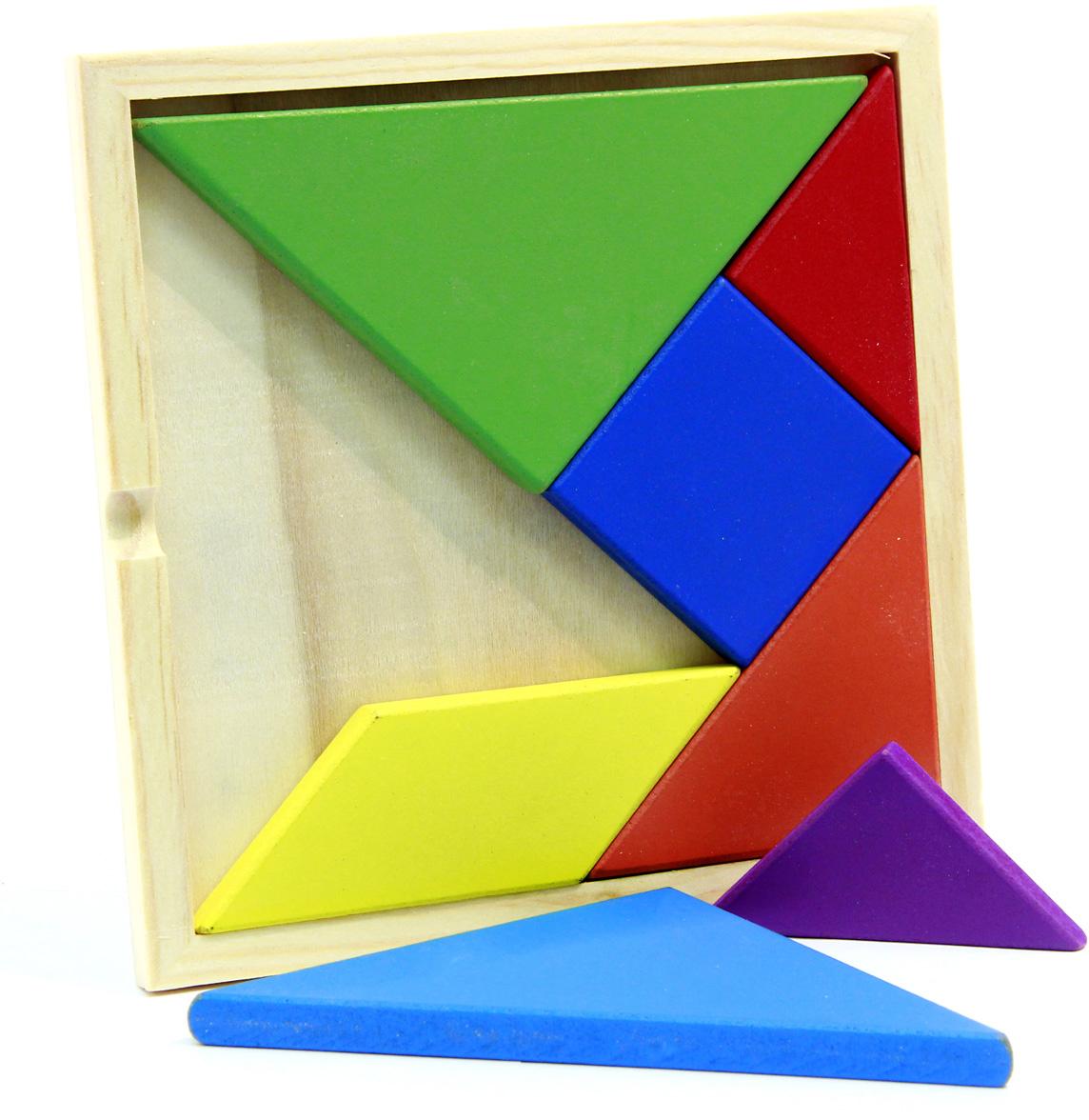 Фабрика Фантазий Обучающая игра Фигуры цветные аэлита развивающая игра цветные столбики