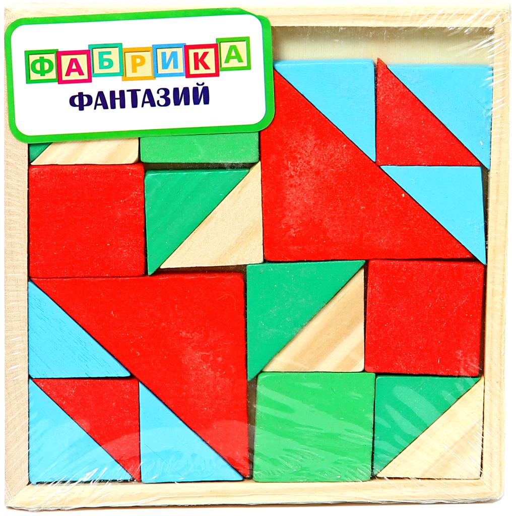 Фабрика Фантазий Обучающая игра Цветные фигуры аэлита развивающая игра цветные столбики