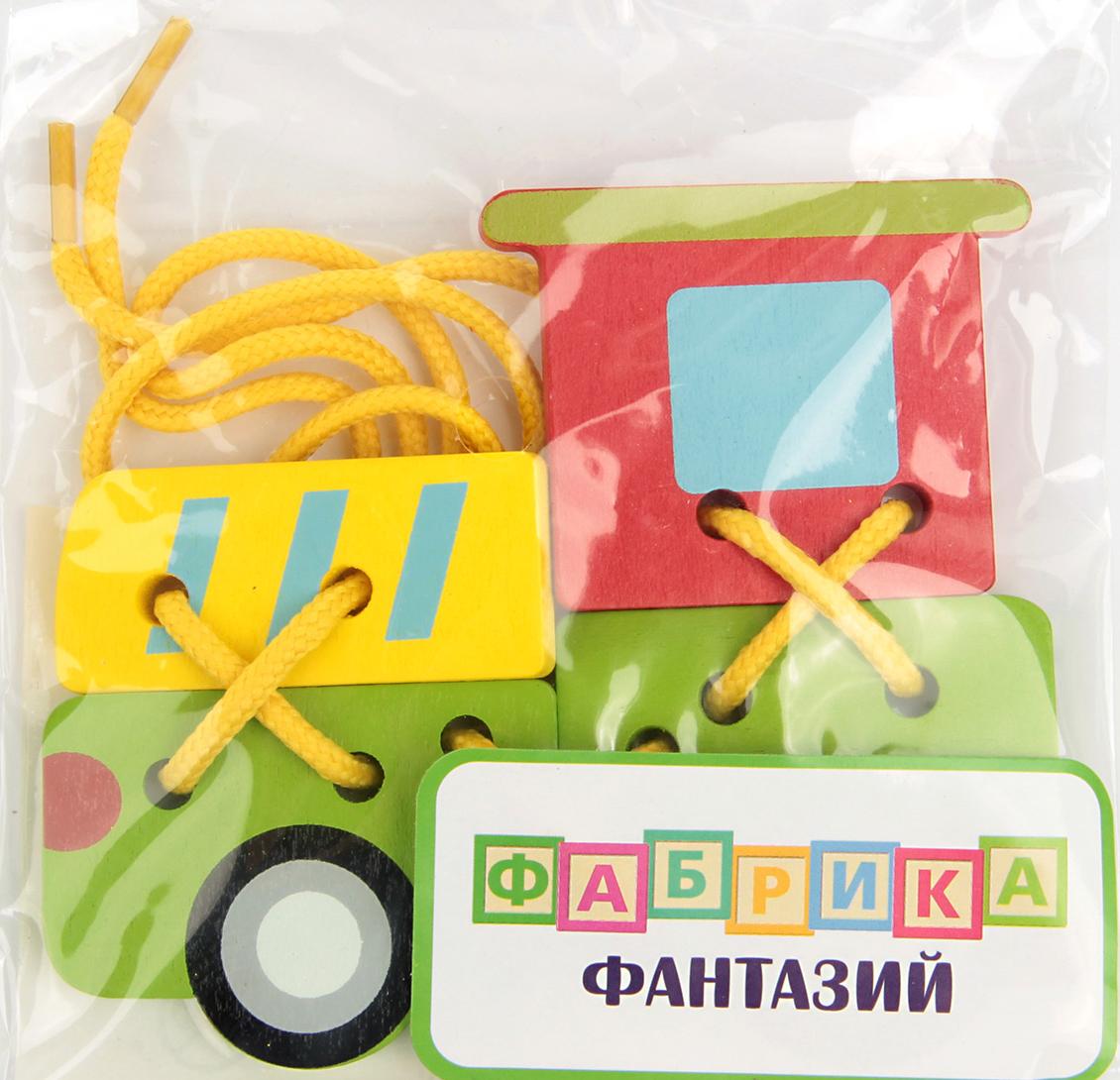 Фабрика Фантазий Игра-шнуровка Шнуровка 60104 haba игра шнуровка бабочка