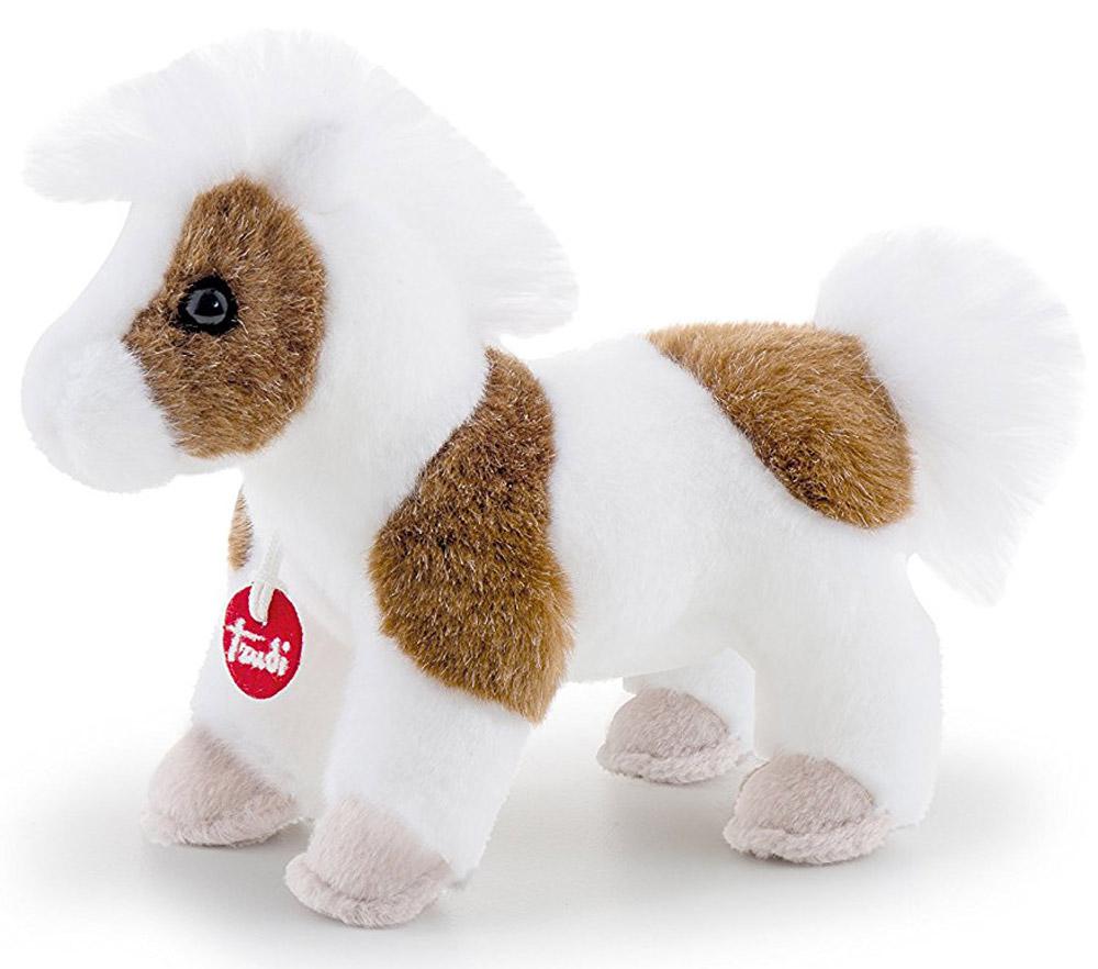 Trudi Мягкая игрушка Лошадка делюкс 15 см trudi котёнок брэд серо белый 24 см