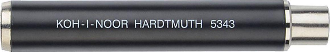 Koh-I-Noor Карандаш цанговый 10 мм цвет корпуса черный181002Цанговый (механический) карандаш Koh-i-Noor - незаменимый атрибут современного делового человека дома и в офисе. Корпус карандаша круглой формы выполнен из металла. Предназначен для графита, мела, пастели круглого сечения диаметром 10 мм.