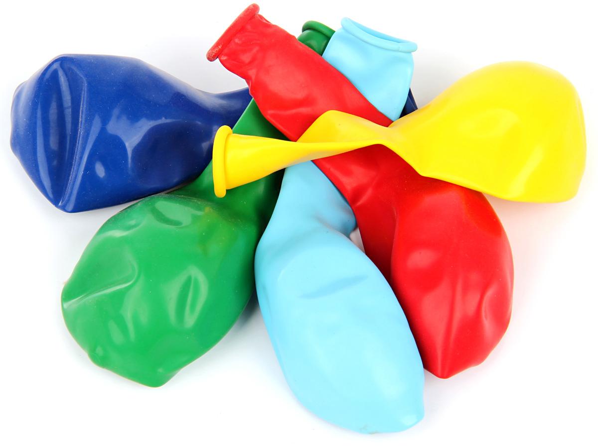 Веселый хоровод Набор воздушных шаров 25 см 5 шт веселый хоровод набор трубочек для коктейля фрукты 12 шт kl29633