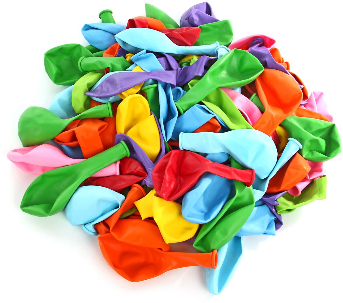 Веселый хоровод Набор шаров 30 см 100 шт цвет в ассортименте KL40918