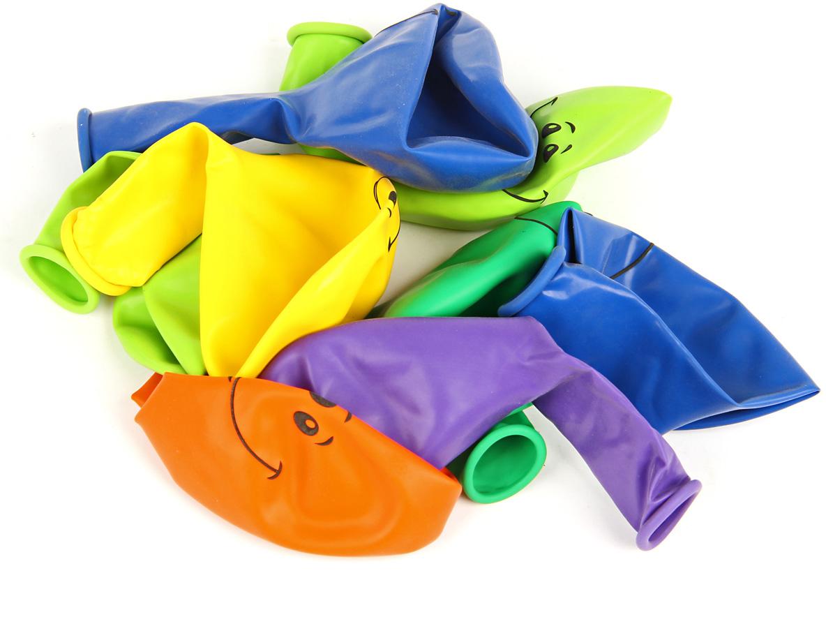 Веселый хоровод Набор воздушных шаров Улыбка 30 см 8 шт веселый хоровод набор шаров 30 см 100 шт цвет в ассортименте kl40897