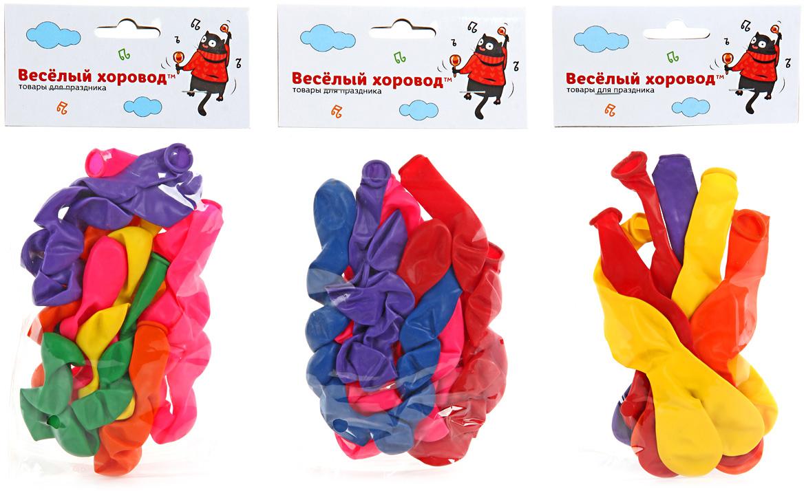 Веселый хоровод Набор шаров 6 шт веселый хоровод набор шаров 30 см 100 шт цвет в ассортименте kl40897