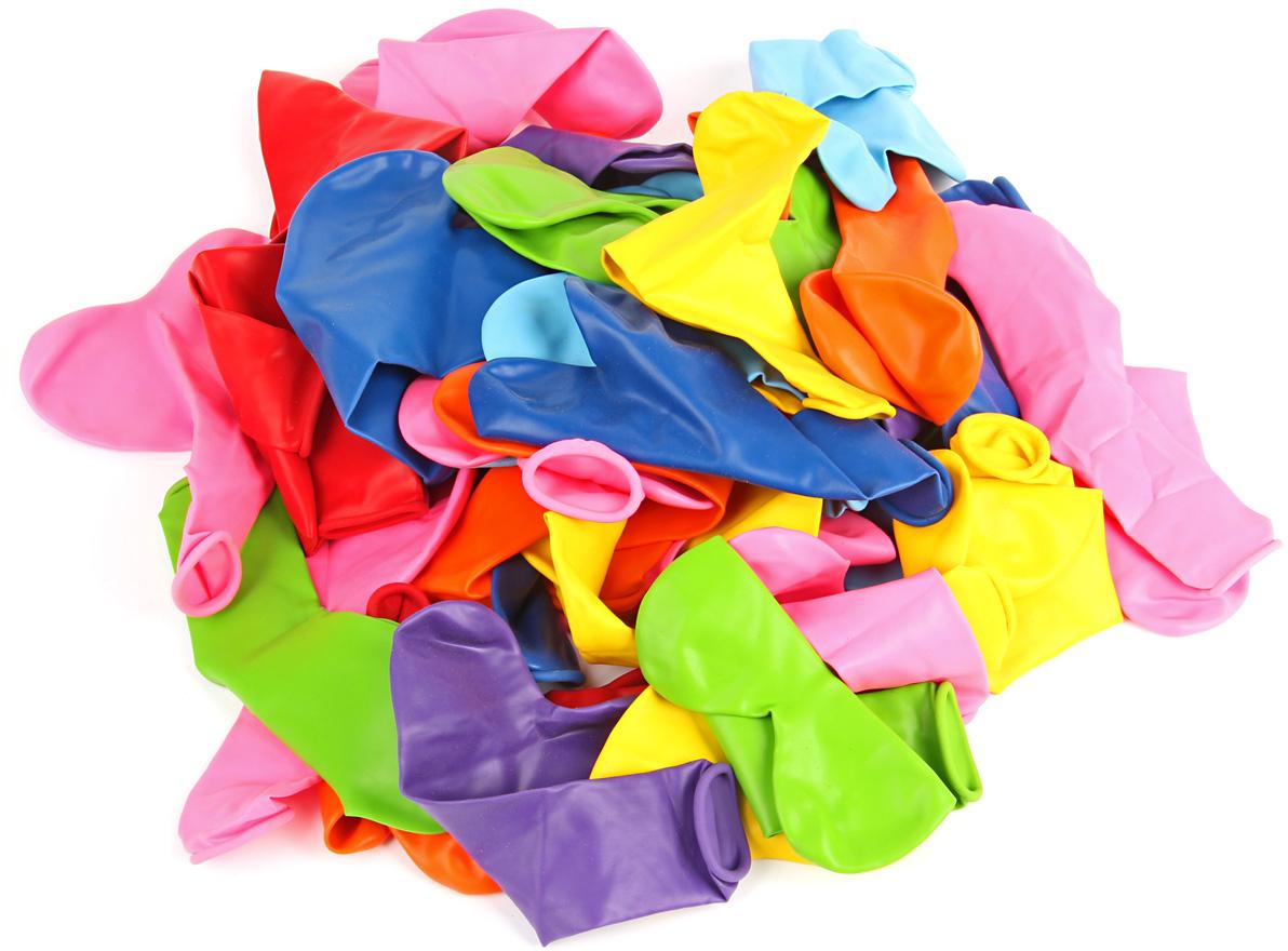 Веселый хоровод Набор шаров Сердце 30 см 50 шт цвет в ассортименте веселый хоровод набор шаров 30 см 100 шт цвет в ассортименте kl40897