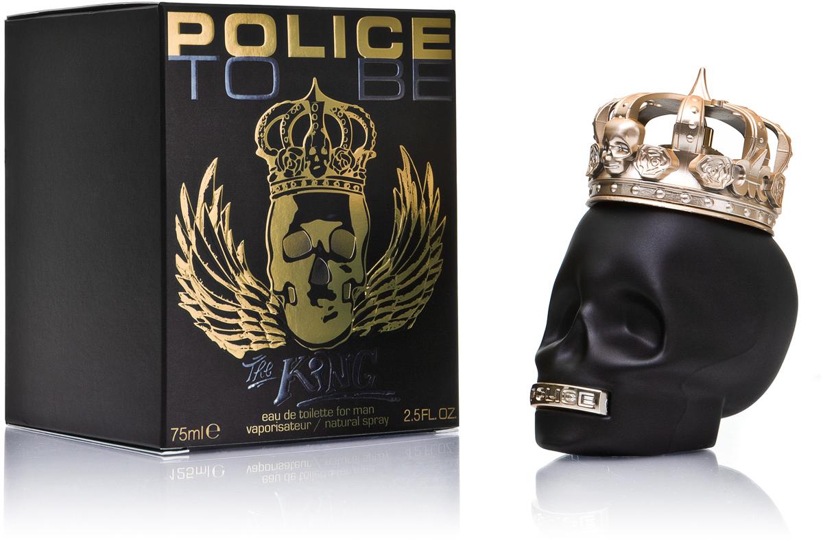 Police Туалетная вода To be King, 75 мл police pl 12921jsb 02m