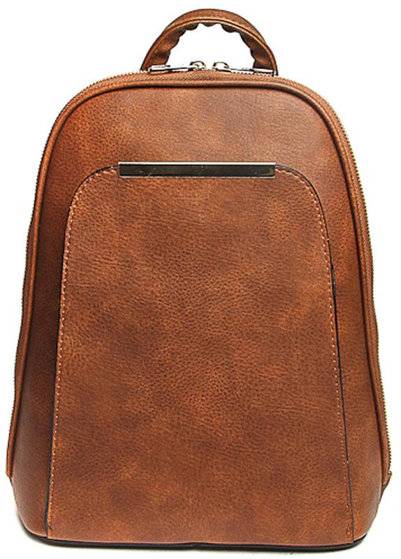 Сумка-рюкзак женская Milana, цвет: рыжий. 172679-1-126 сумка женская