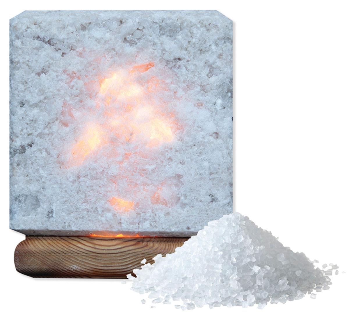 Соляная лампа Proffi, цвет: белый лампы освещение