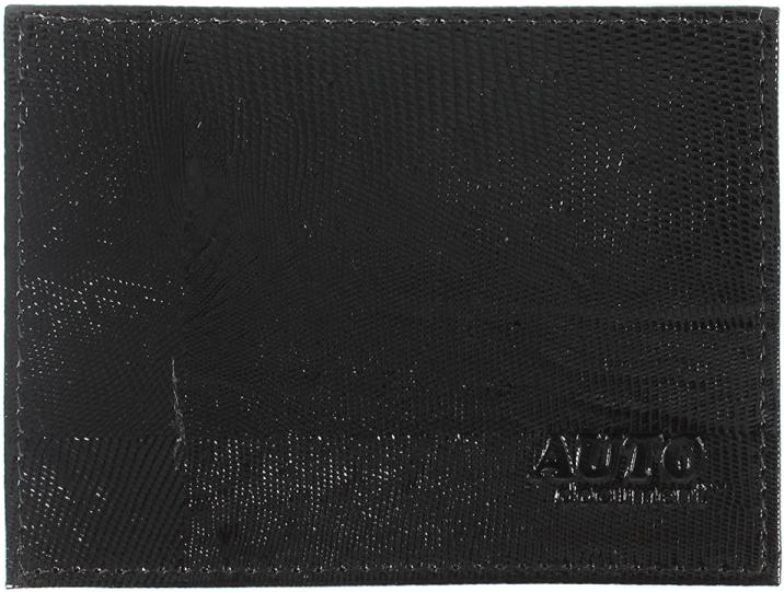 Обложка для автодокументов Premier, цвет: черный. 105834105834Обложка для авто.документов черный игуана