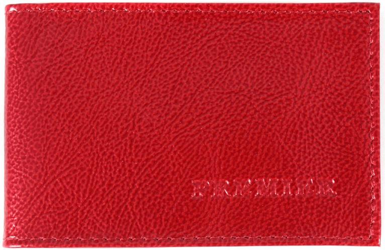 Визитница женская Premier, цвет: красный. 107675