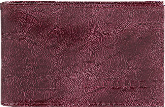 Визитница женская Premier, цвет: бордовый. 107678
