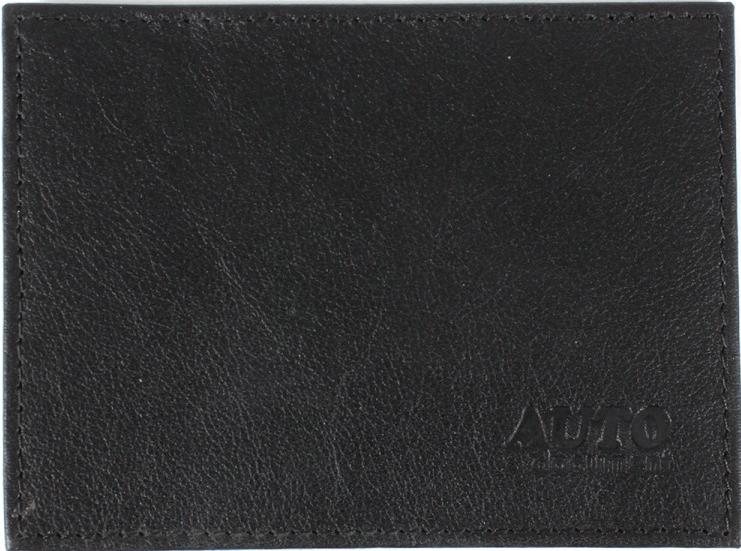 Обложка для автодокументов Premier, цвет: черный. 122813122813Обложка для авто.документов черн. Матовая