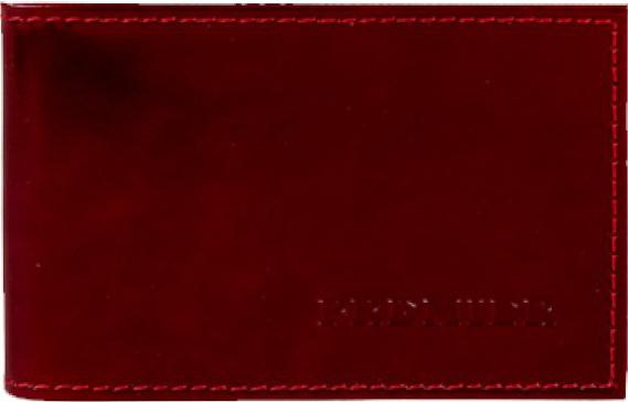 Визитница женская Premier, цвет: красный. 154344154344Визитница выполнена из натуральной фактурной кожи. Внутри расположен вкладыш, состоящий из прозрачных файлов под визитки. Стильный аксессуар станет отличным подарком для человека ценящего качественные и практичные вещи.