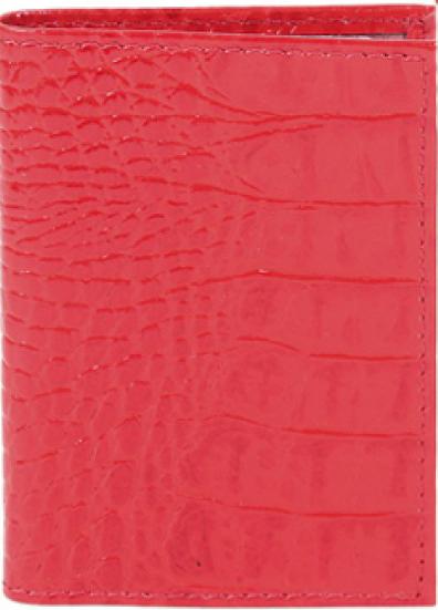 Визитница женская Premier, цвет: красный. 166813