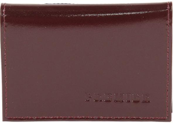Визитница женская Premier, цвет: бордовый. 167023