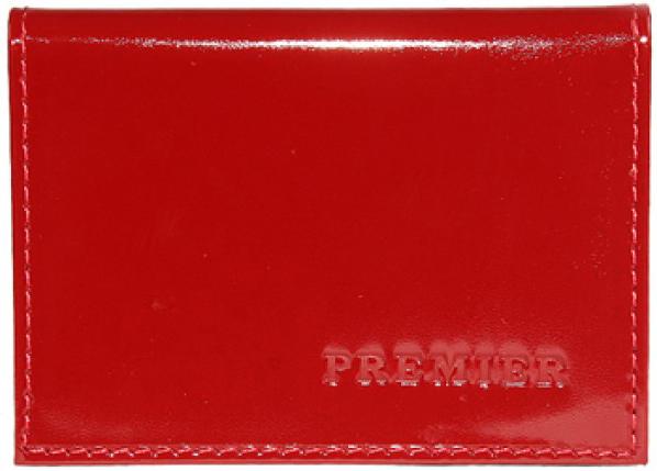 Визитница женская Premier, цвет: красный. 178225