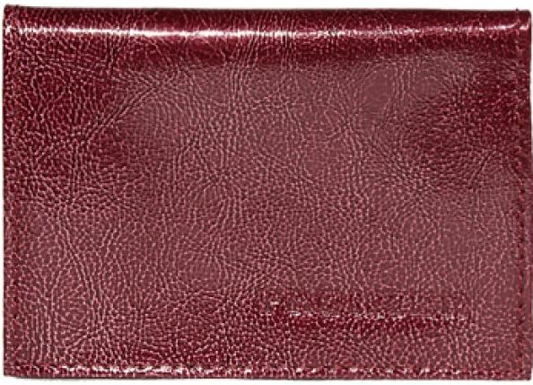 Визитница женская Premier, цвет: бордовый. 178228