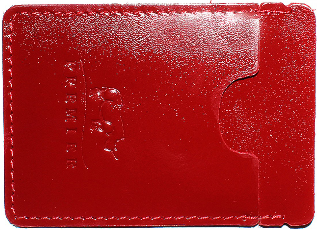 Визитница женская Premier, цвет: красный. 187736