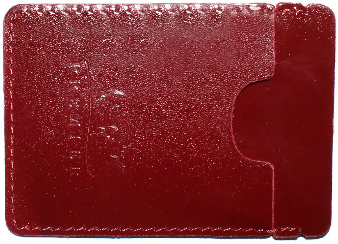 Визитница женская Premier, цвет: красный. 187738