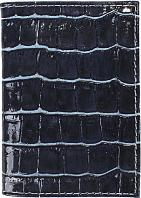 Визитница мужская Premier, цвет: синий. 190562 визитница женская premier цвет темно зеленый 193681