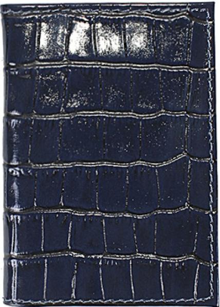 Визитница мужская Premier, цвет: синий. 190563