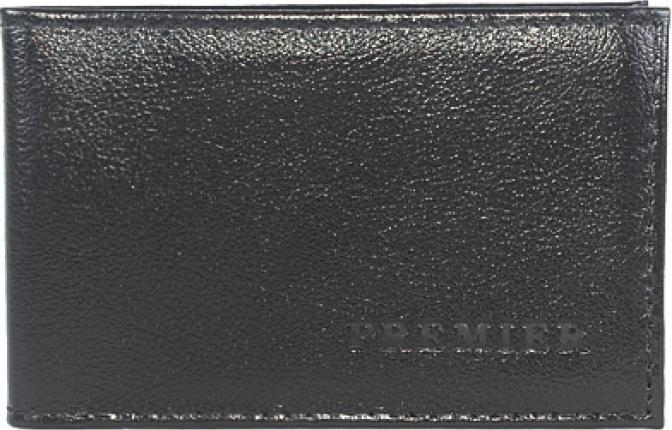 Визитница мужская Premier, цвет: черный. 193312